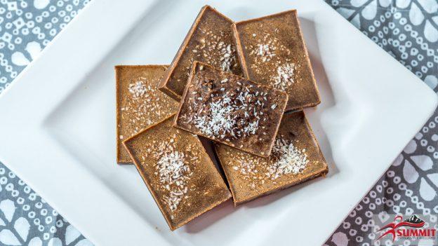 Keto Mint and Chocolate Fudge Bars